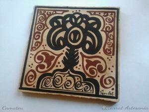 Socarrat Artesano con la imagen del árbol de la vida