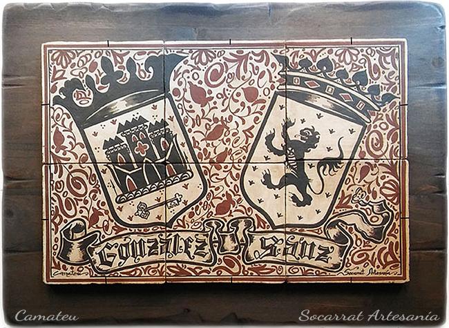 regalo heráldica socarrat mural gonzález sanz