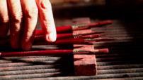 Socarrat Artesanía detalle pinceles en el taller