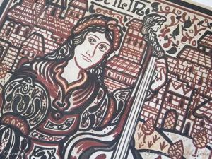 Santa Cecilia socarrat patrona de la música