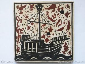 Socarrat barco coca medieval