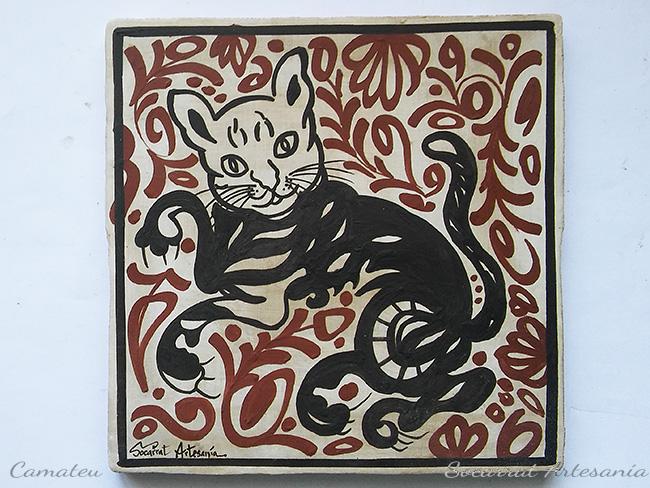 Regalo Socarrat Artesanía gato