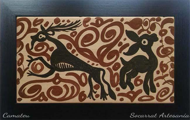 Regalo Socarrat Artesanía ciervos