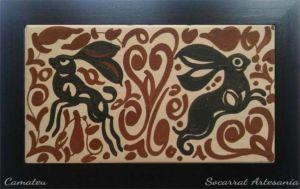 Regalo Socarrat Artesanía Conejos