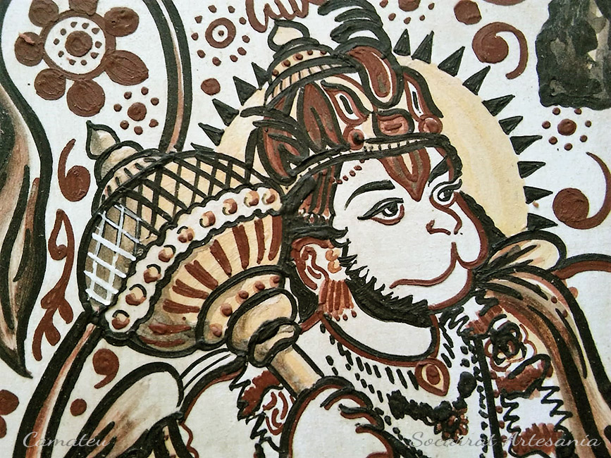 Socarrat Hanuman dios mono
