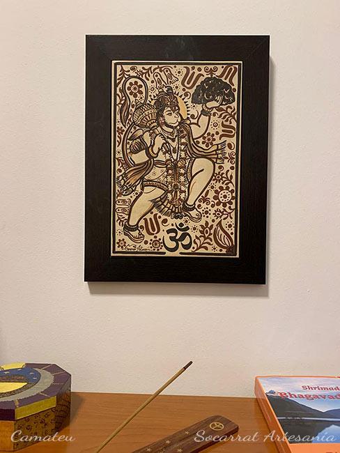 Hanuman al estilo socarrat