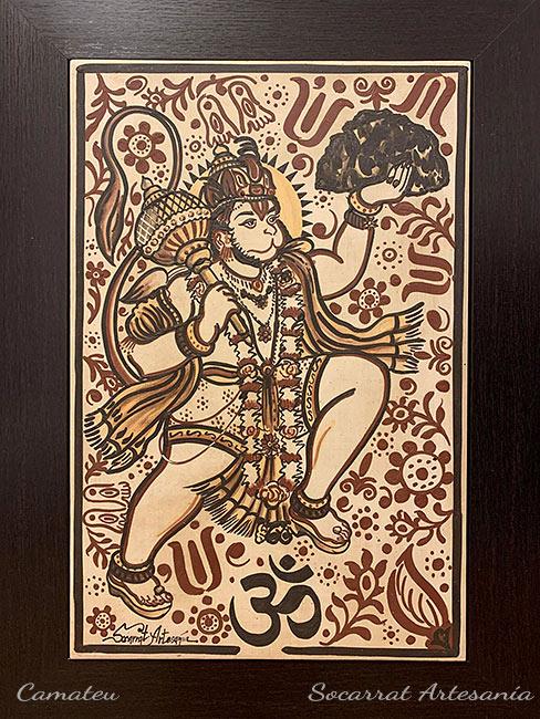 Hanuman cuadro cerámica
