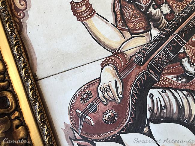 Saraswati detalle visna