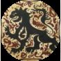 Socarrat de Paterna del S. XV con la figura de un león